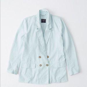 Abercrombie & Fitch Linen Blazer